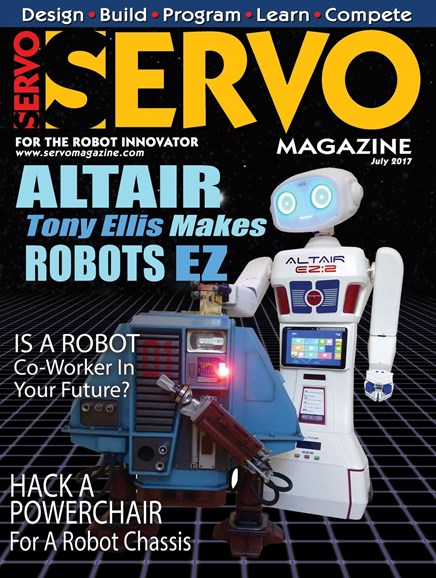 Servo Magazine Cover - 7/1/2017