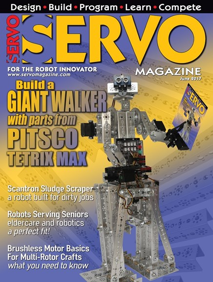 Servo Magazine Cover - 6/1/2017
