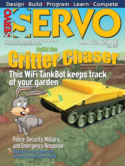 Servo Magazine Cover - 5/1/2017