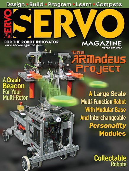 Servo Magazine Cover - 11/1/2017