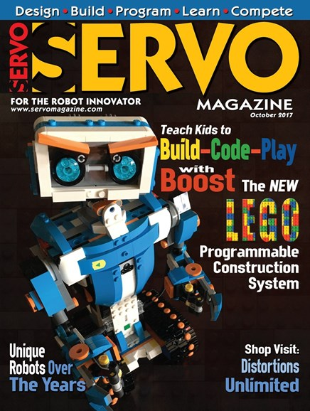 Servo Magazine Cover - 10/1/2017