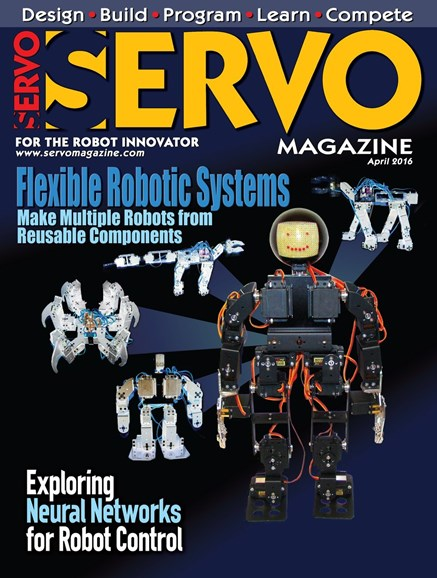 Servo Magazine Cover - 4/1/2016