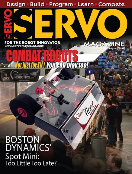 Servo Magazine Cover - 8/1/2016