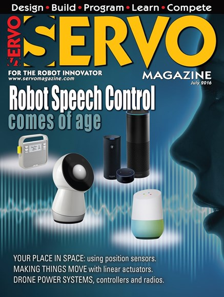 Servo Magazine Cover - 7/1/2016