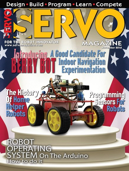 Servo Magazine Cover - 11/1/2016