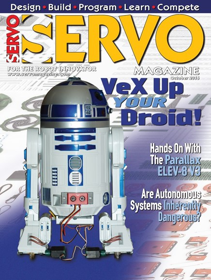 Servo Magazine Cover - 10/1/2016