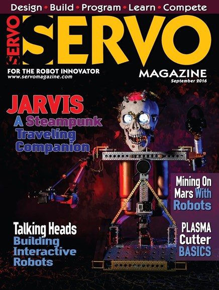 Servo Magazine Cover - 9/1/2016