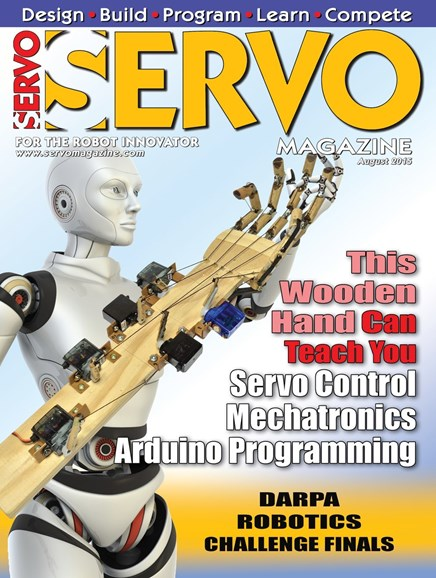 Servo Magazine Cover - 8/1/2015
