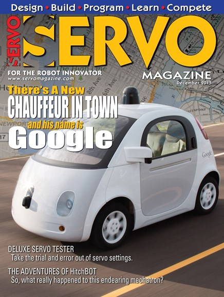 Servo Magazine Cover - 12/1/2015