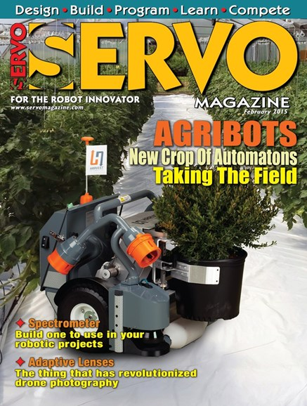 Servo Magazine Cover - 2/1/2015
