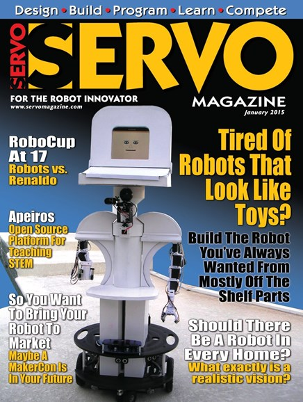 Servo Magazine Cover - 1/1/2015