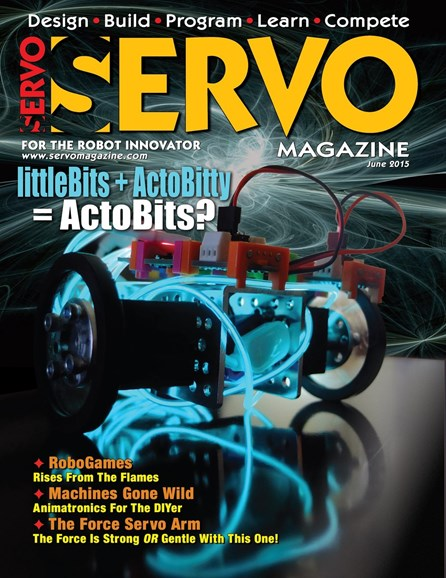 Servo Magazine Cover - 6/1/2015