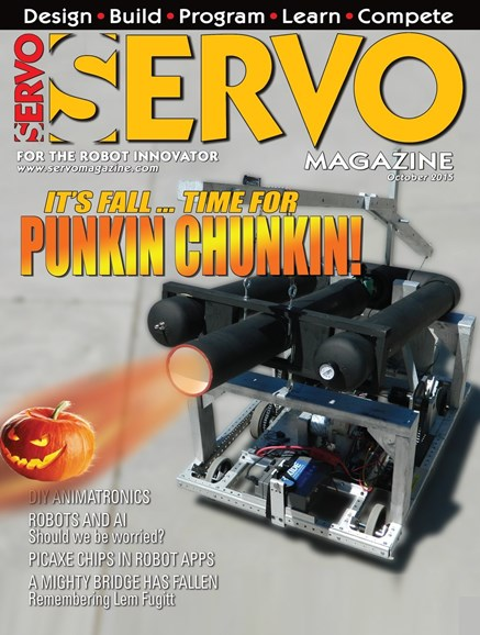 Servo Magazine Cover - 10/1/2015