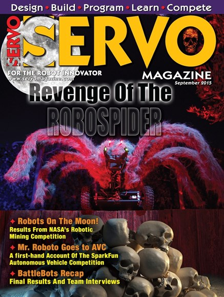 Servo Magazine Cover - 9/1/2015