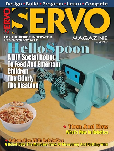 Servo Magazine Cover - 4/1/2015