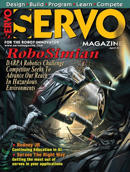 Servo Magazine Cover - 5/1/2015