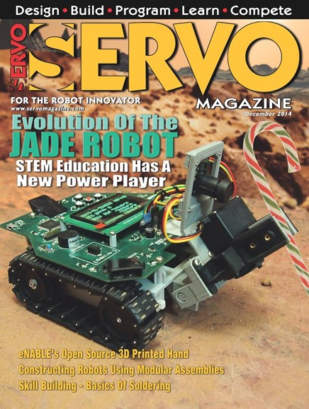 Servo Magazine Cover - 12/1/2014
