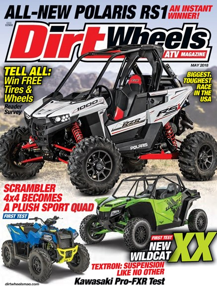 Dirt Wheels Cover - 5/1/2018