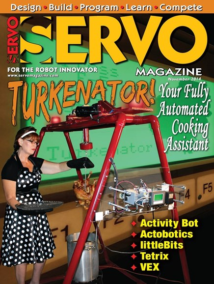 Servo Magazine Cover - 11/1/2014