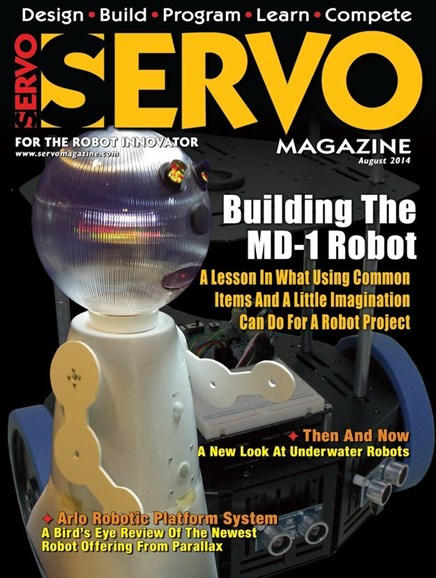 Servo Magazine Cover - 8/1/2014