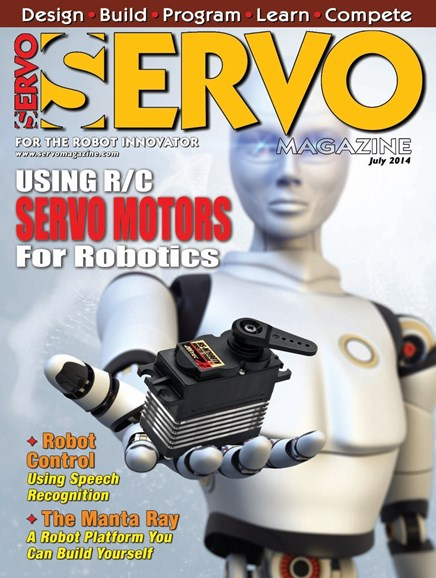 Servo Magazine Cover - 7/1/2014