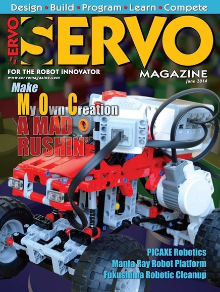 Servo Magazine Cover - 6/1/2014