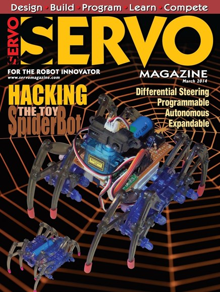 Servo Magazine Cover - 3/1/2014