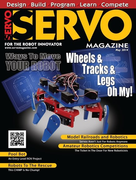 Servo Magazine Cover - 5/1/2014