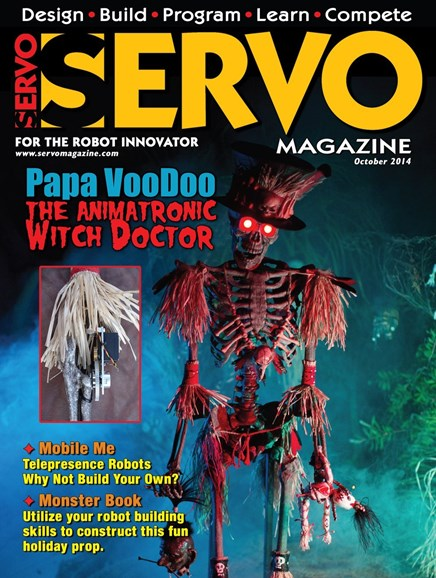 Servo Magazine Cover - 10/1/2014