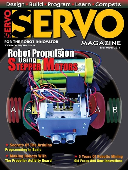 Servo Magazine Cover - 9/1/2014