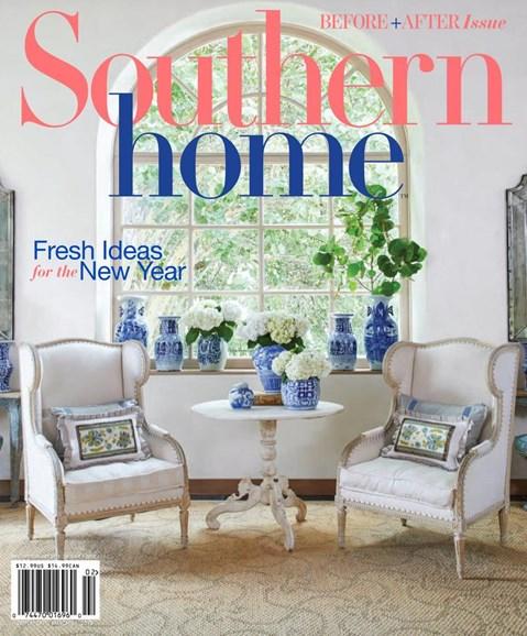 Southern Home Cover - 1/1/2018