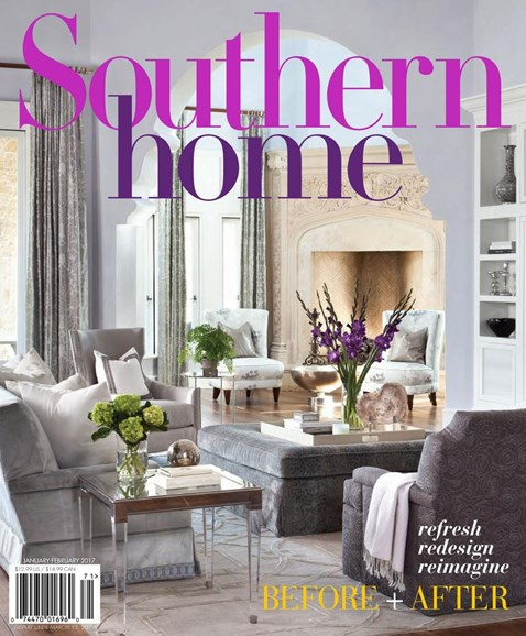 Southern Home Cover - 1/1/2017
