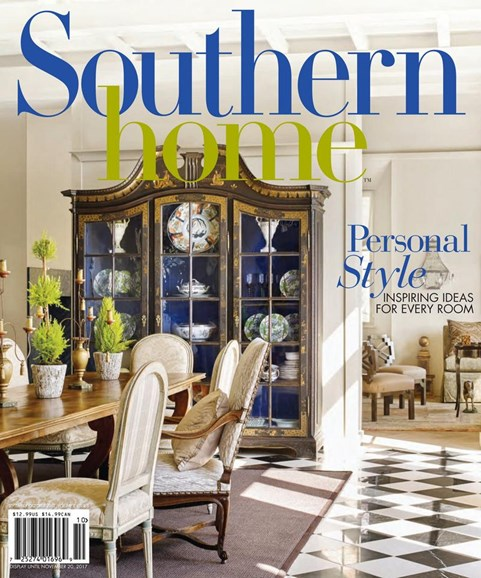 Southern Home Cover - 9/1/2017