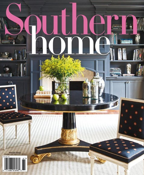 Southern Home Cover - 12/1/2015