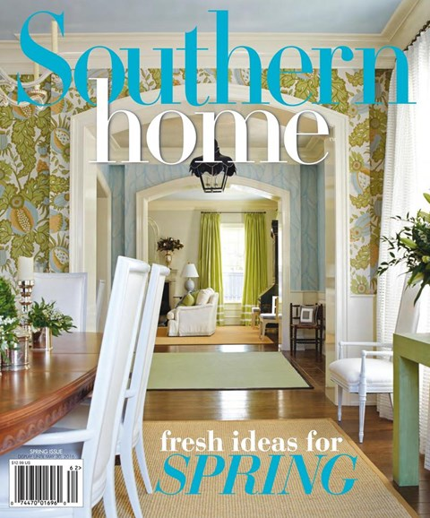 Southern Home Cover - 3/1/2016