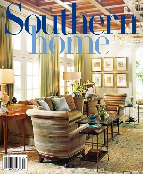 Southern Home Cover - 9/1/2015