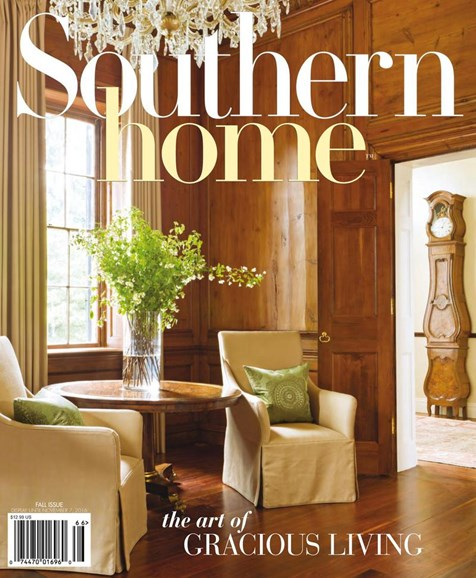 Southern Home Cover - 9/1/2016