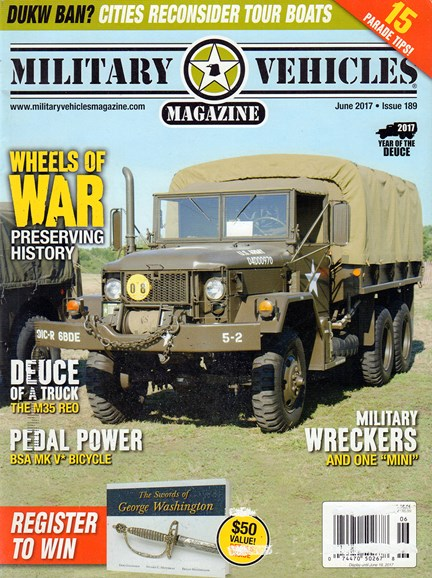 Military Vehicles Cover - 6/1/2017