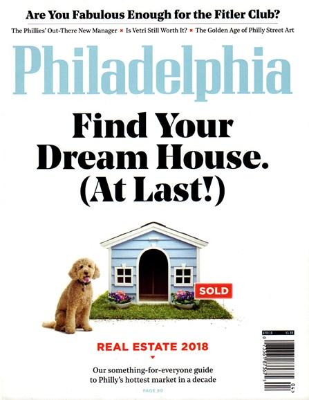 Philadelphia Magazine Cover - 4/1/2018