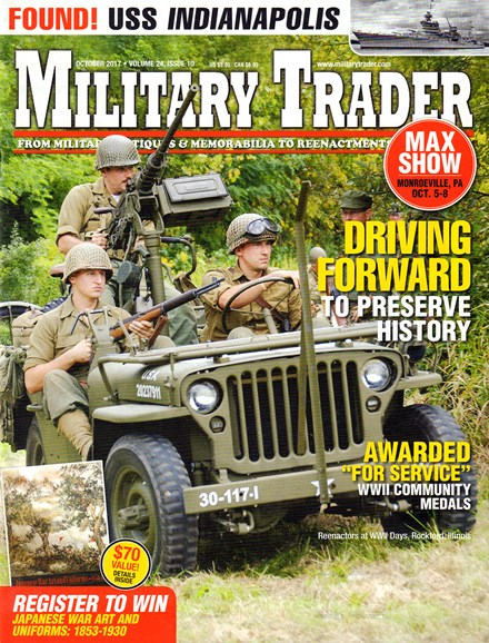 Military Trader Cover - 10/1/2017