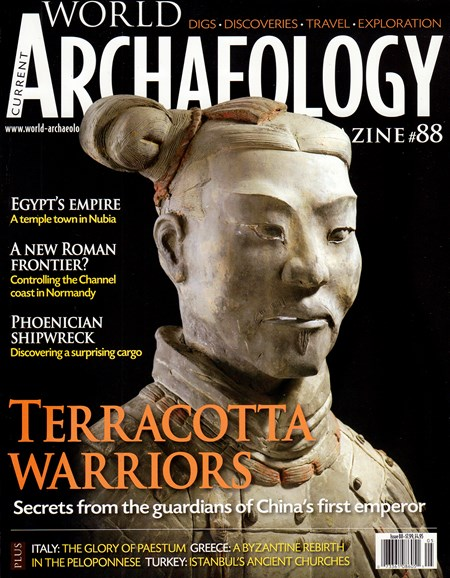 Current World Archaeology Cover - 4/1/2018