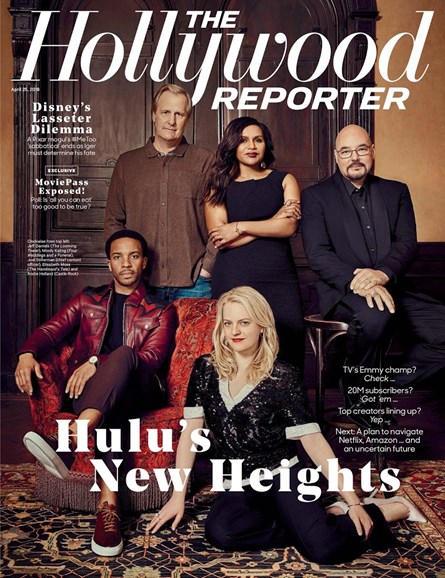 The Hollywood Reporter Cover - 4/25/2018