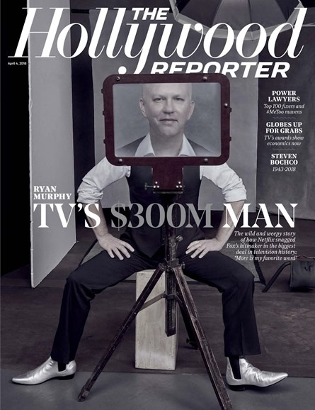 The Hollywood Reporter Cover - 4/4/2018