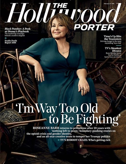 The Hollywood Reporter Cover - 2/21/2018