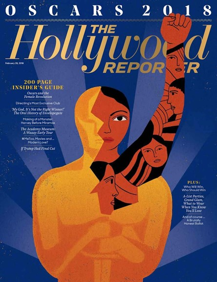 The Hollywood Reporter Cover - 2/28/2018