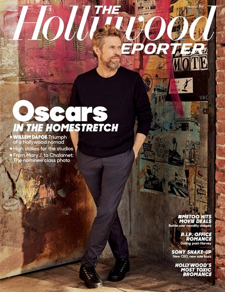 The Hollywood Reporter Cover - 2/7/2018