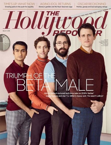The Hollywood Reporter Cover - 3/7/2018