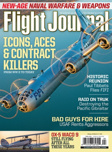 Flight Journal Cover - 4/1/2018