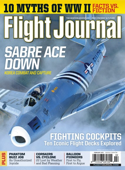 Flight Journal Cover - 2/1/2018