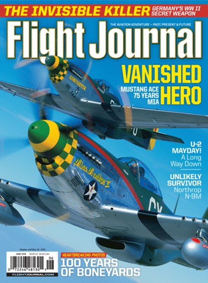 Flight Journal Cover - 6/1/2018